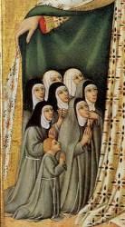 nun medieval nuns habits habit paintings europe clothing catholic sister monasticism church renaissance religious female young wearing tells london woman
