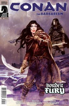 Conan the Barbarian #7, by Brian Wood, Becky Cloonan, and Dave Stewart (2012)