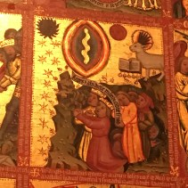 Triptych with scenes from the Apocalypse, c. 1380