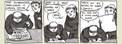 Kate Beaton's history comics