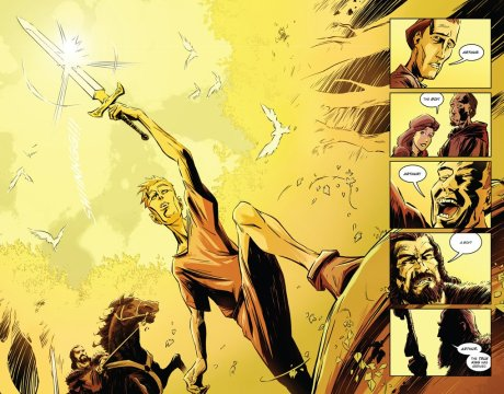 Excalibur, by Tony Lee and Sam Hart (2011)