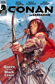 Conan the Barbarian: Queen of the Black Coast, by Brian Wood, Becky Cloonan, and Dave Stewart (2012)