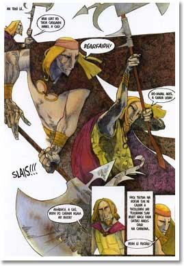 An Táin, by Colmán Ó Raghallaigh, Barry Reynolds, and The Cartoon Saloon, Cill Chainnigh (2006)