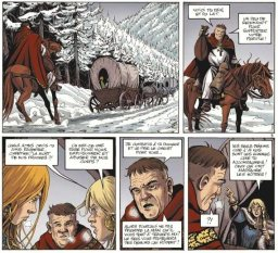 Hammerfall, by Sylvain Runberg and Boris Talijancic (2007-2009)