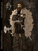 Wolves of Odin, by Grant Gould (2014)