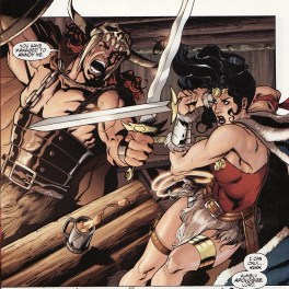(featuring Beowulf) Wonder Woman: Ends of the Earth, by Gail Simone, Aaron Lopresti, and Bernard Chang (2009)