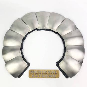 Aventail with titanium plates