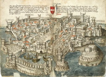 medieval cities did medievalists ages middle town map london germany roman drawing knight looked century german