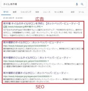 リスティング広告とSEO