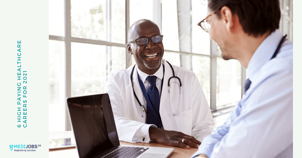 6 High Paying healthcare careers for 2021
