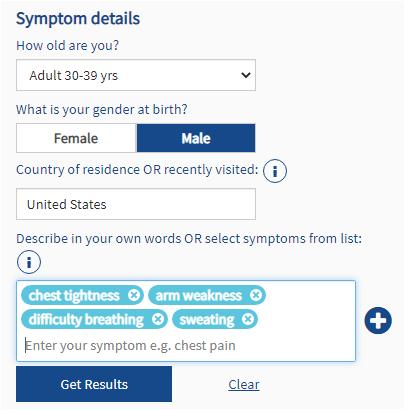Isabel Symptom Checker
