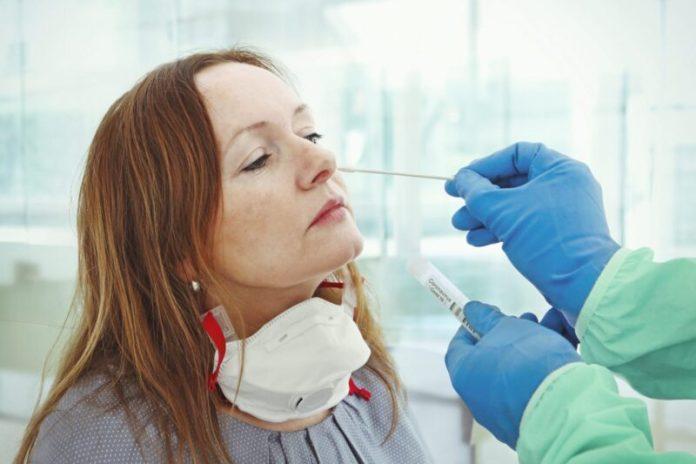 Covid PCR Test nasal swab