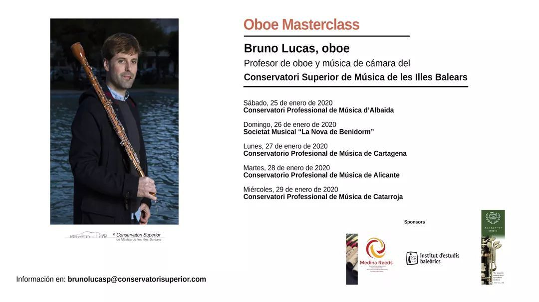 Masterclass / workshop Bruno lucas