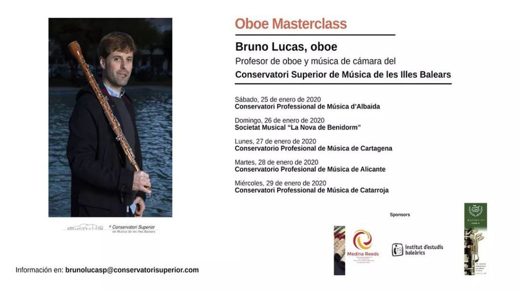 Masterclass / workshop Bruno lucas