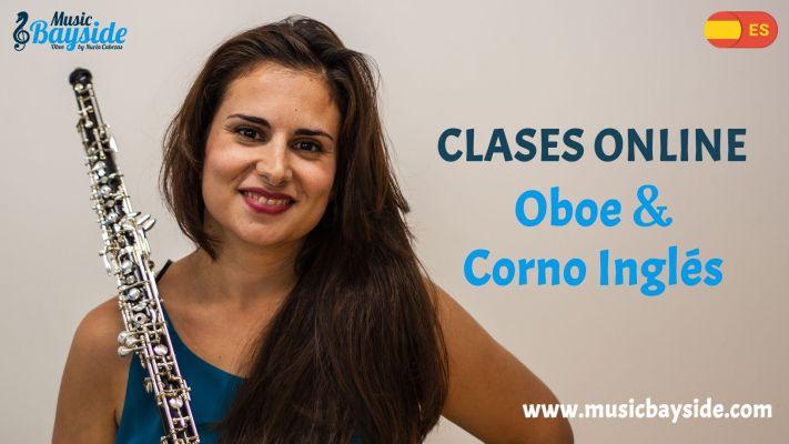 Clases online de oboe y corno inglés