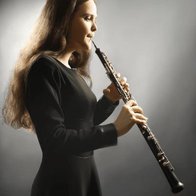postura tocar oboe
