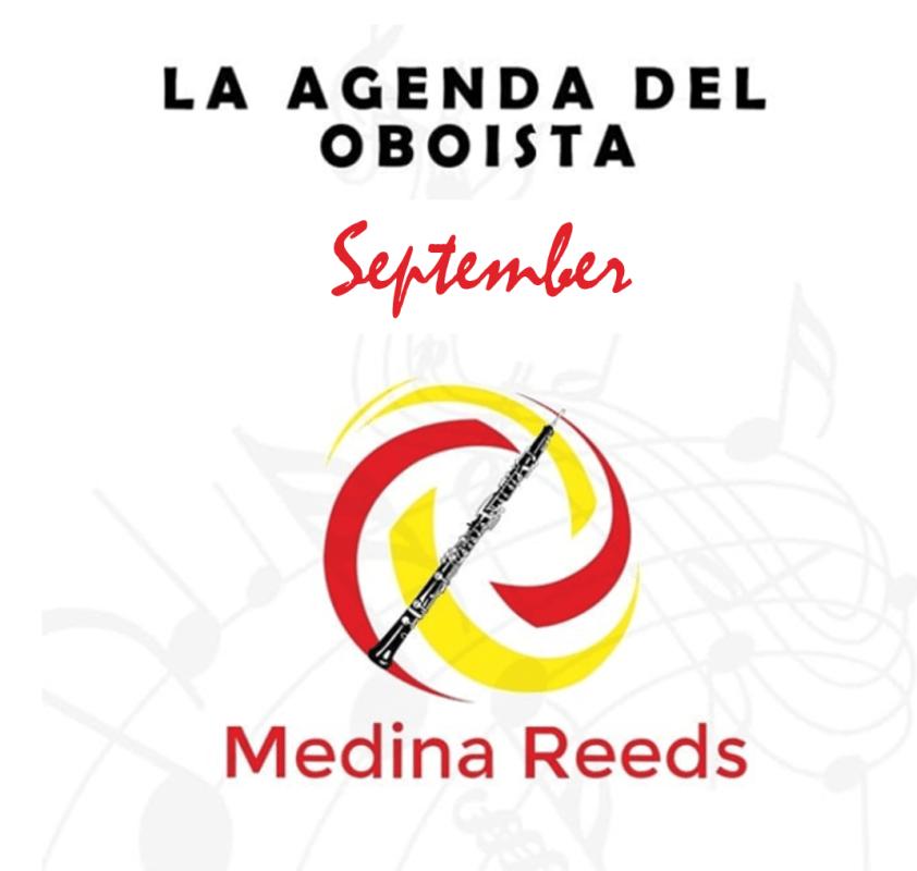 Eventos oboe Septiembre