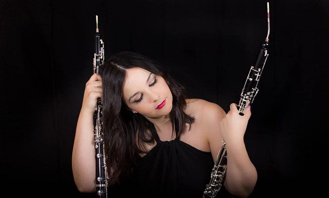 María Calvo oboist of the month