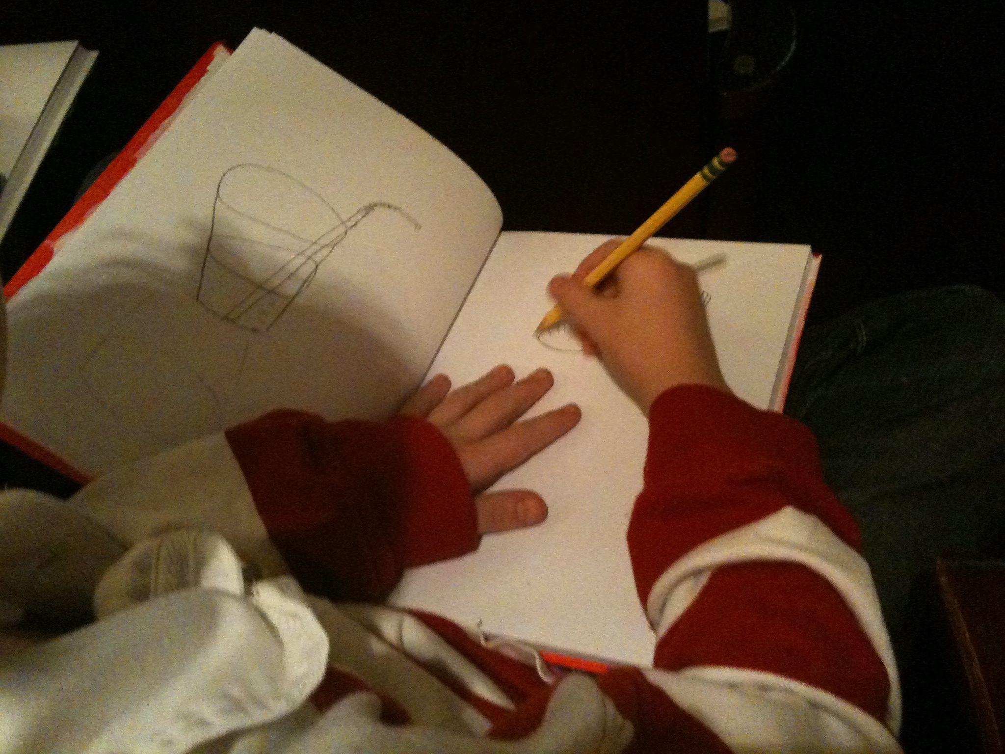 kidsketching