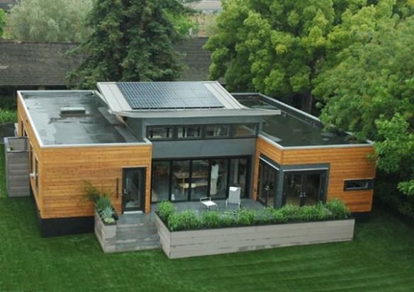 Qué es la arquitectura sostenible c