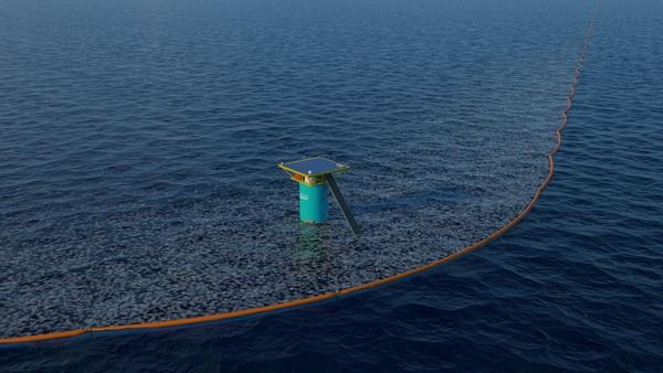 The Ocean Cleanup, el sistema que limpiará los océanos de plásticos