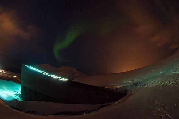 Svalbard Global Seed Vault i