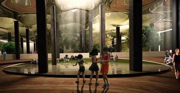 The Lowline y su concepto de parques subterráneos d