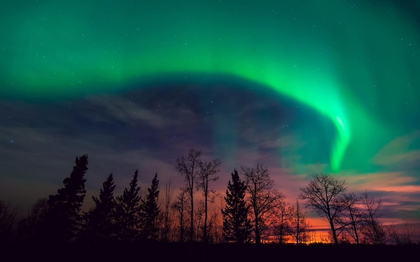 Aurora boreal al