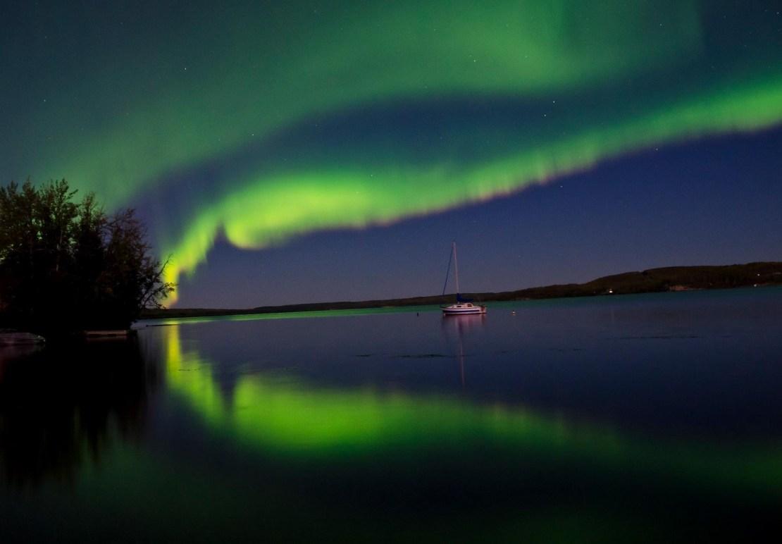 Aurora boreal au