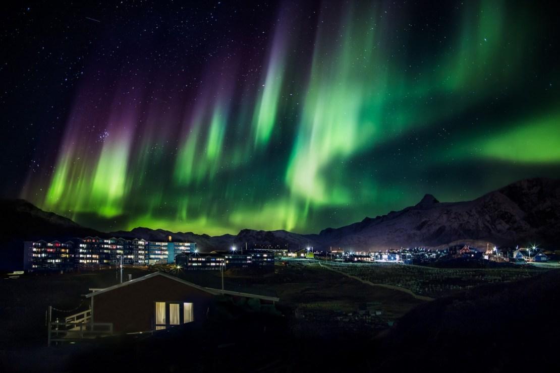 Aurora boreal ax