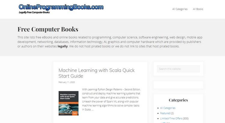 OnlineProgramingBooks.com