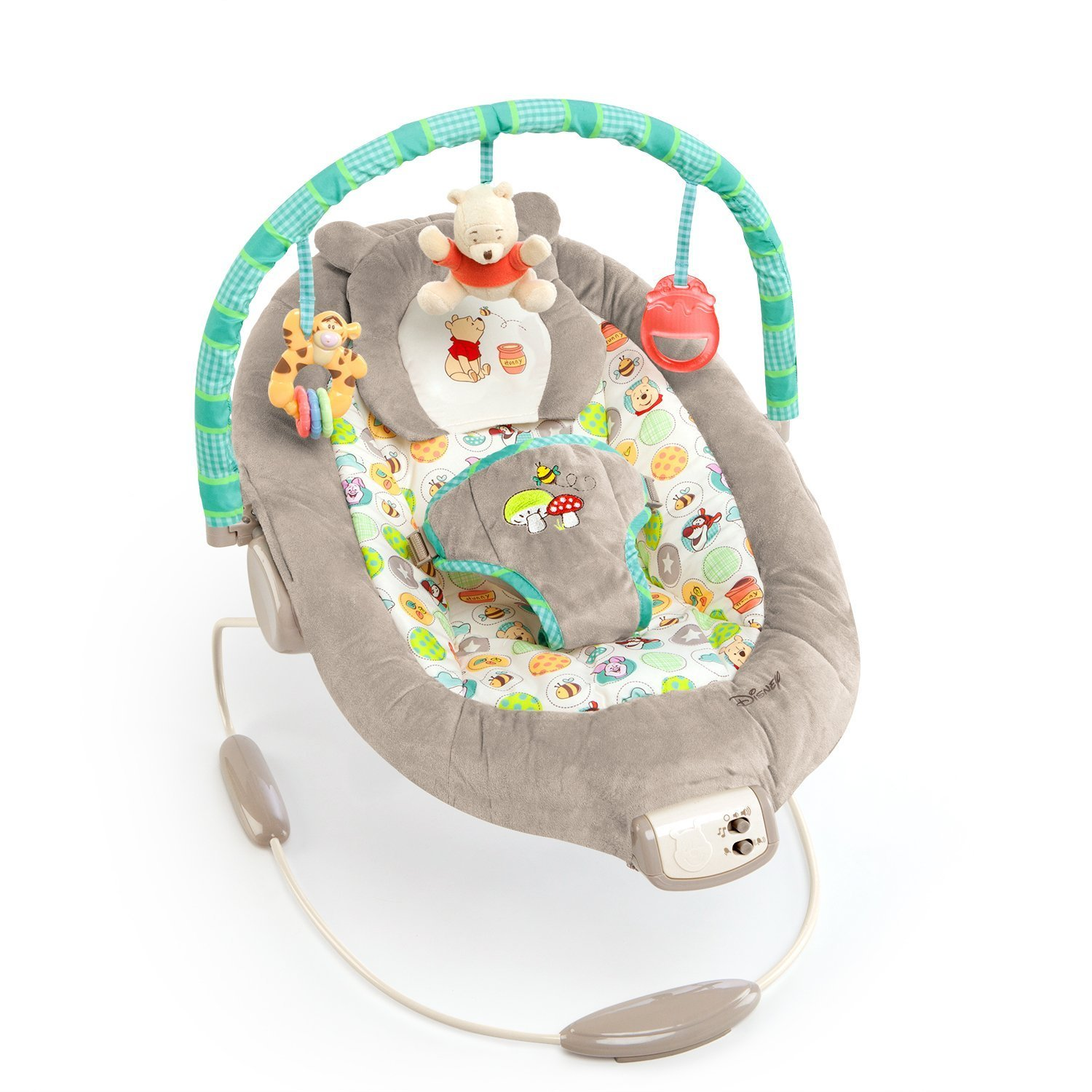 baby chair that vibrates pier one bistro table and chairs bouncer winnie pooh bright starts sears com mx me