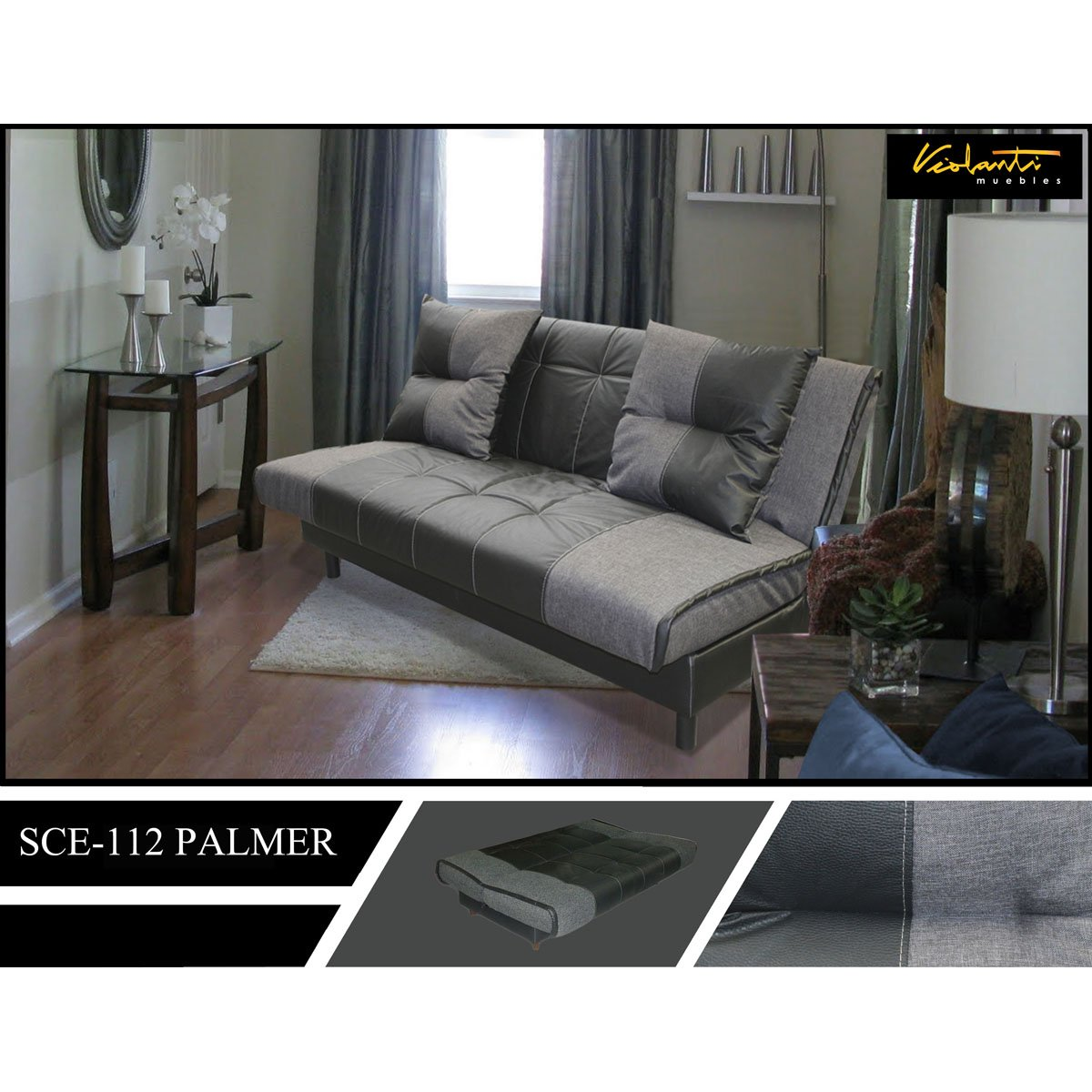 palmer sofa leather sectional with left facing chaise sofá cama sears com mx me entiende