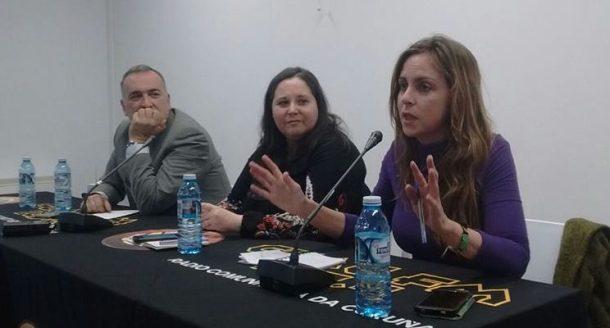 María Limón, durante la conferencia sobre libertad de expresión.
