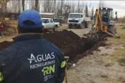 Continúan las obras para mejorar el servicio de agua en Chacra Monte