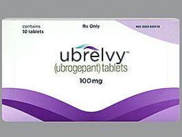 ubrelvy 100 MG Oral Tablet