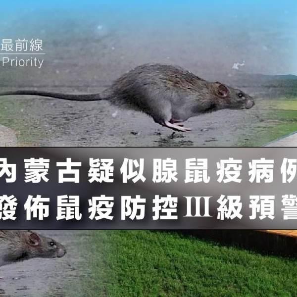 【內蒙古疑似腺鼠疫病例】發佈鼠疫防控III級預警