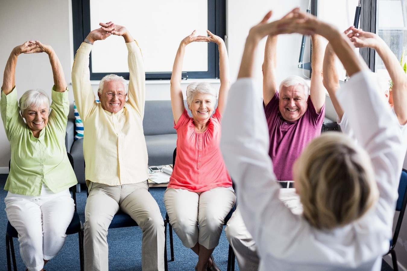 Chair Exercise Top 11 Chair Exercises For Seniors Mediquest Staffing