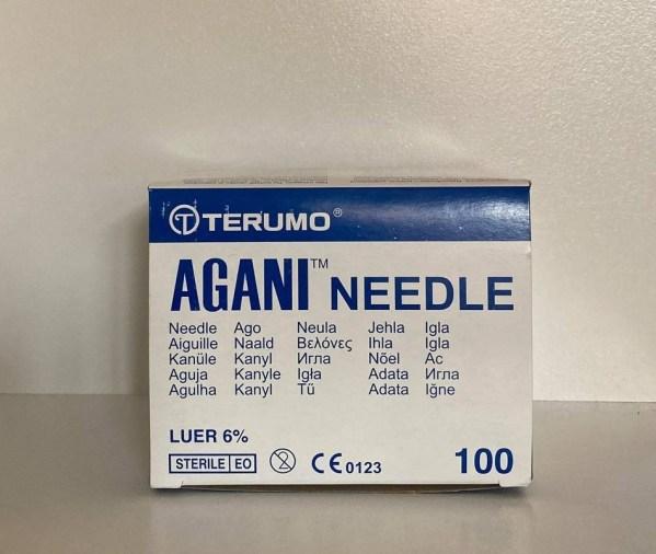 Cream needles