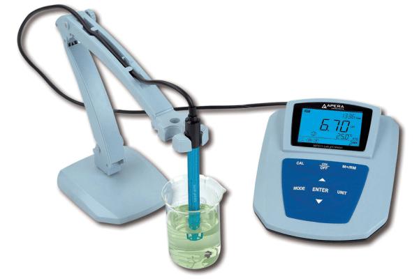 Medidor de pH para laboratorio