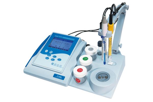 Juego de medidor de mesa de conductividad y pH PC9500