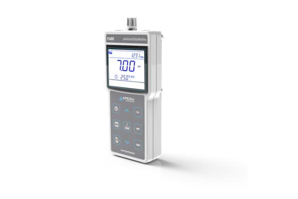 Medidor de parámetros múltiples de conductividad / pH portátil PC400S, con gestión de datos GLP y salida USB