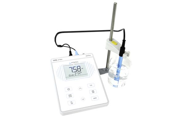 Medidor de pH de mesa para laboratorio