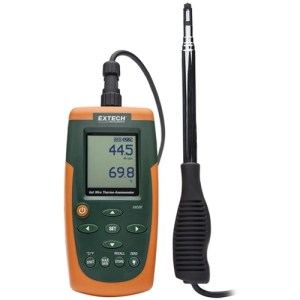 Termoanemómetro CFM/CMM de hilo electrocalentado