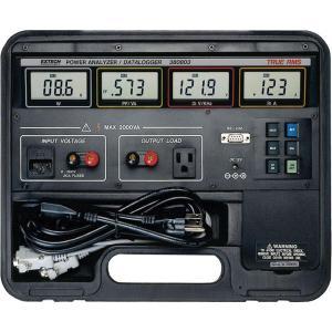 Registrador de datos/analizador de potencia