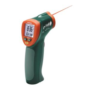 42510A: Minitermómetro de infrarrojos de amplio rango Termómetro de infrarrojos 12:1 compacto con puntero láser