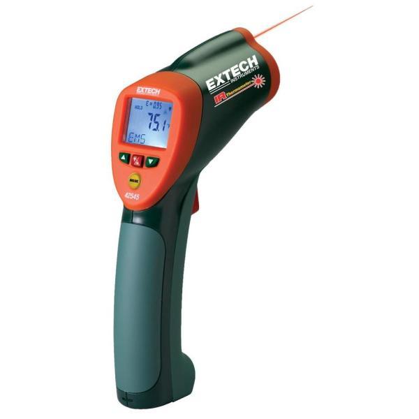42545: Termómetro de infrarrojos de alta temperatura Termómetro de infrarrojos 50:1 de amplio rango con puntero láser