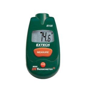 IR100: Minitermómetro de infrarrojos Termómetro de infrarrojos 1:1 de tamaño compacto