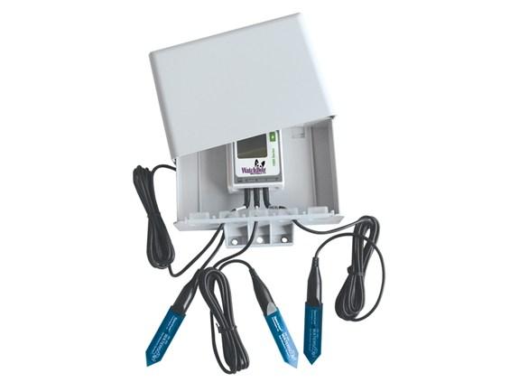 Estación monitoreo humedad de suelo
