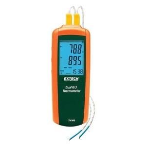 Medidor de tamaño compacto para mediciones de temperatura diferencial